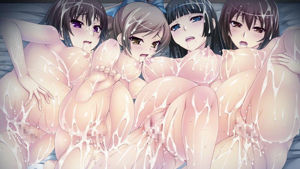 【まるで産婦人科】ボテ腹妊婦が複数並んでる二次エロ画像【15】