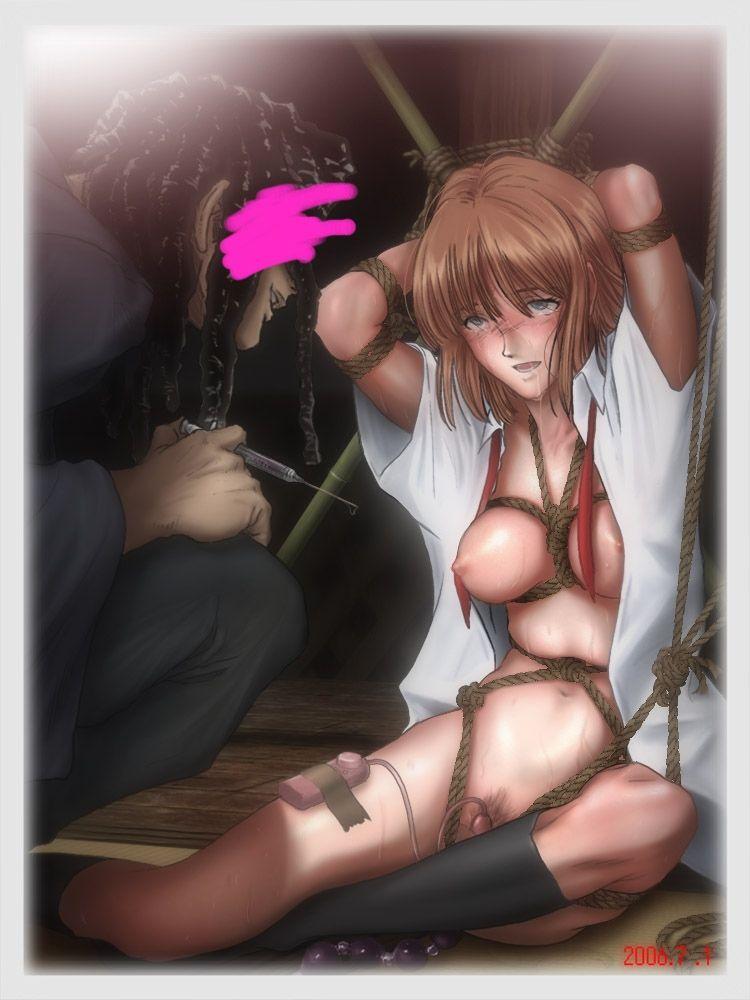 【ダメ、ゼッタイ】何かのクスリを注射されて薬漬けな女子達の二次エロ画像【23】