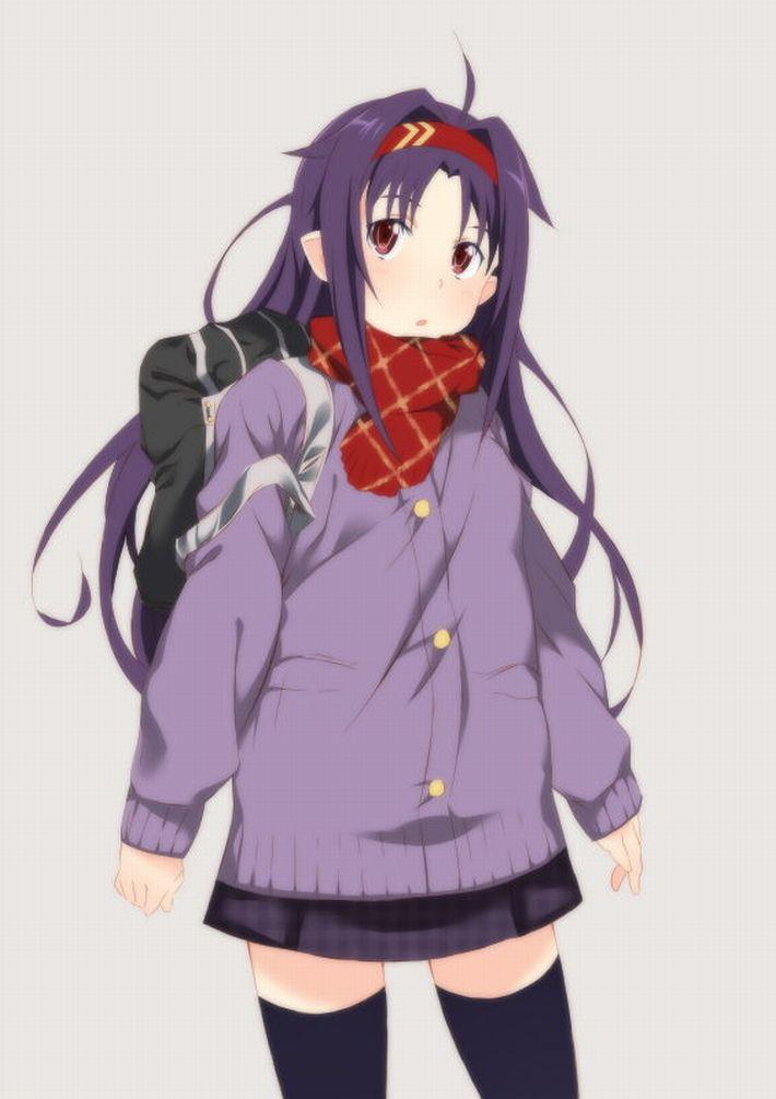 【SAO】ユウキ・紺野木綿季(こんのゆうき)のエロ画像【ソードアート・オンライン】【23】