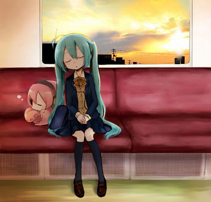 【無防備】うたた寝してる美少女達の二次エロ画像【19】