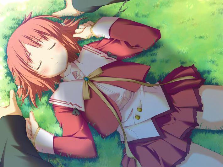 【無防備】うたた寝してる美少女達の二次エロ画像【20】