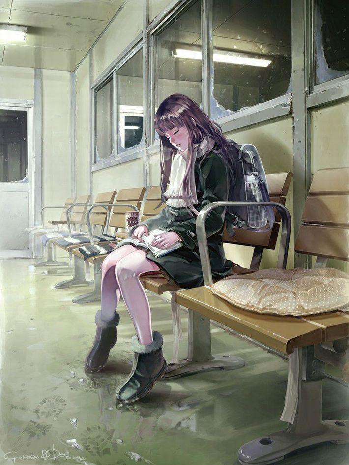 【無防備】うたた寝してる美少女達の二次エロ画像【28】