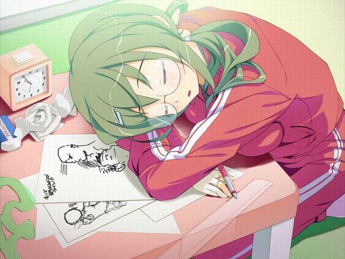 【無防備】うたた寝してる美少女達の二次エロ画像【31】