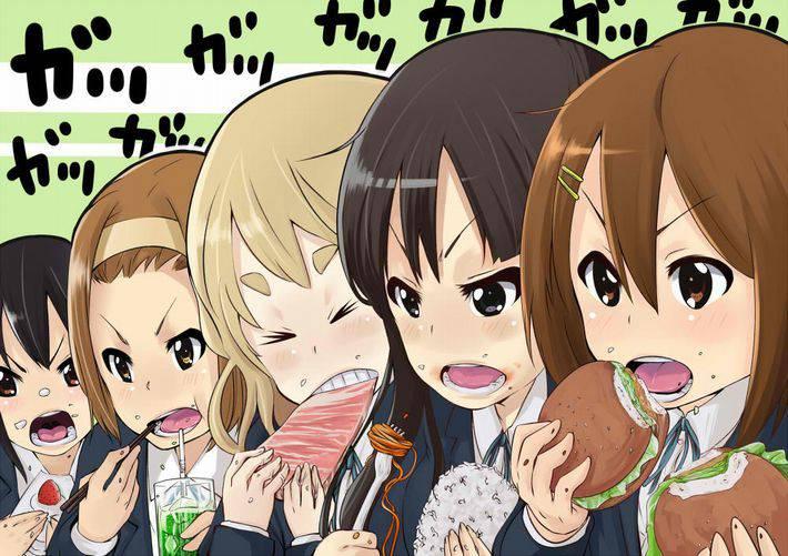【MAX優勝おめでとう】大食いしてる女の子達の二次画像【27】