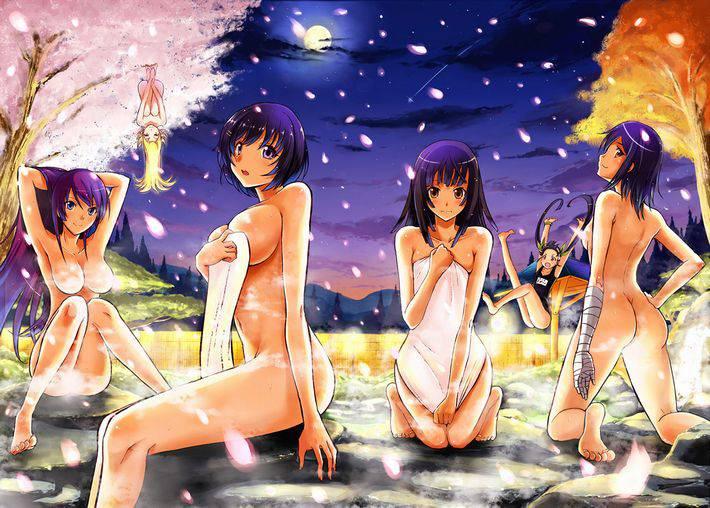【裸の付き合い】女の子達が友達同士温泉で温まってる二次エロ画像【28】