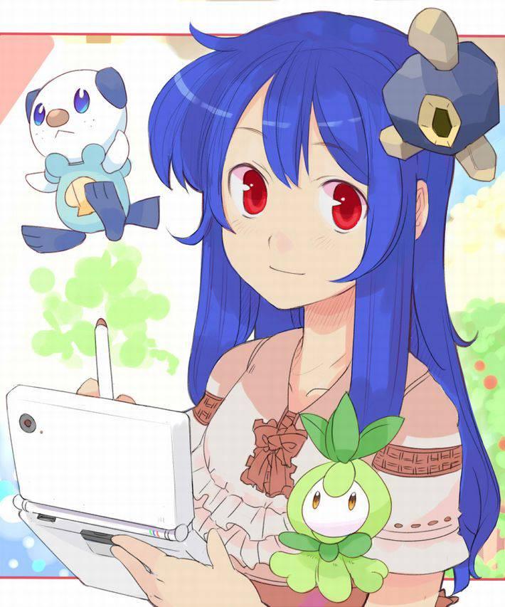 【11月17日】3DSでゲームしてる女の子達の二次画像【ポケットモンスターUSM発売】【3】