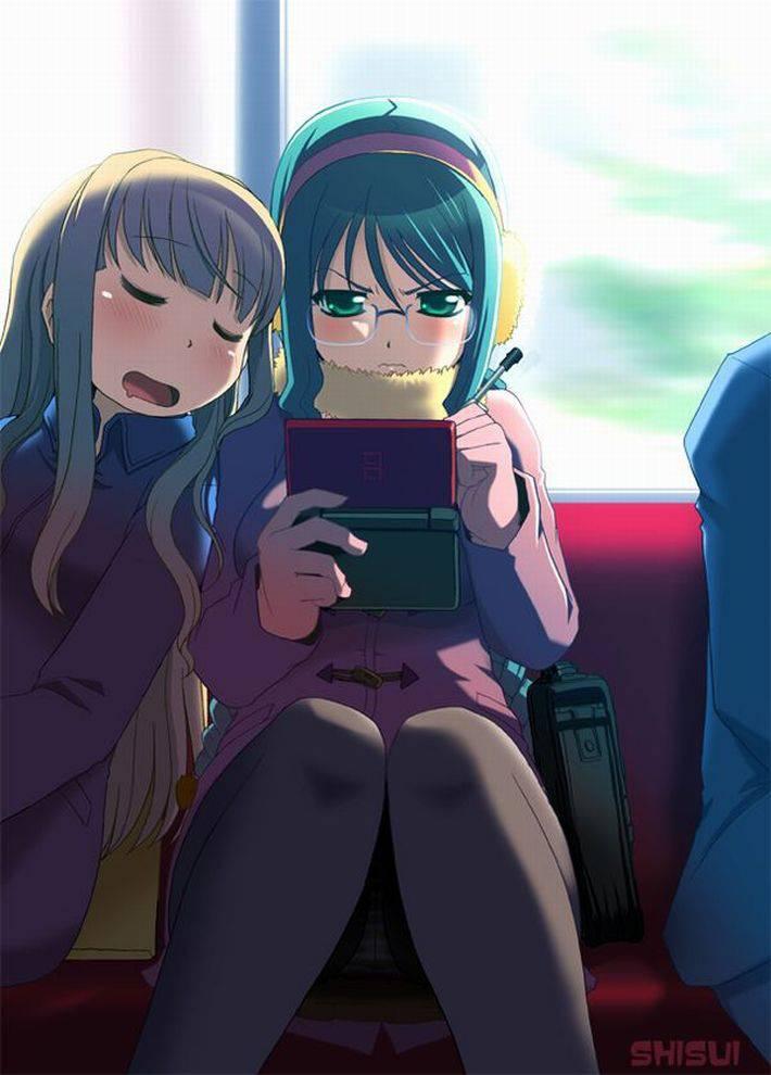 【11月17日】3DSでゲームしてる女の子達の二次画像【ポケットモンスターUSM発売】【16】