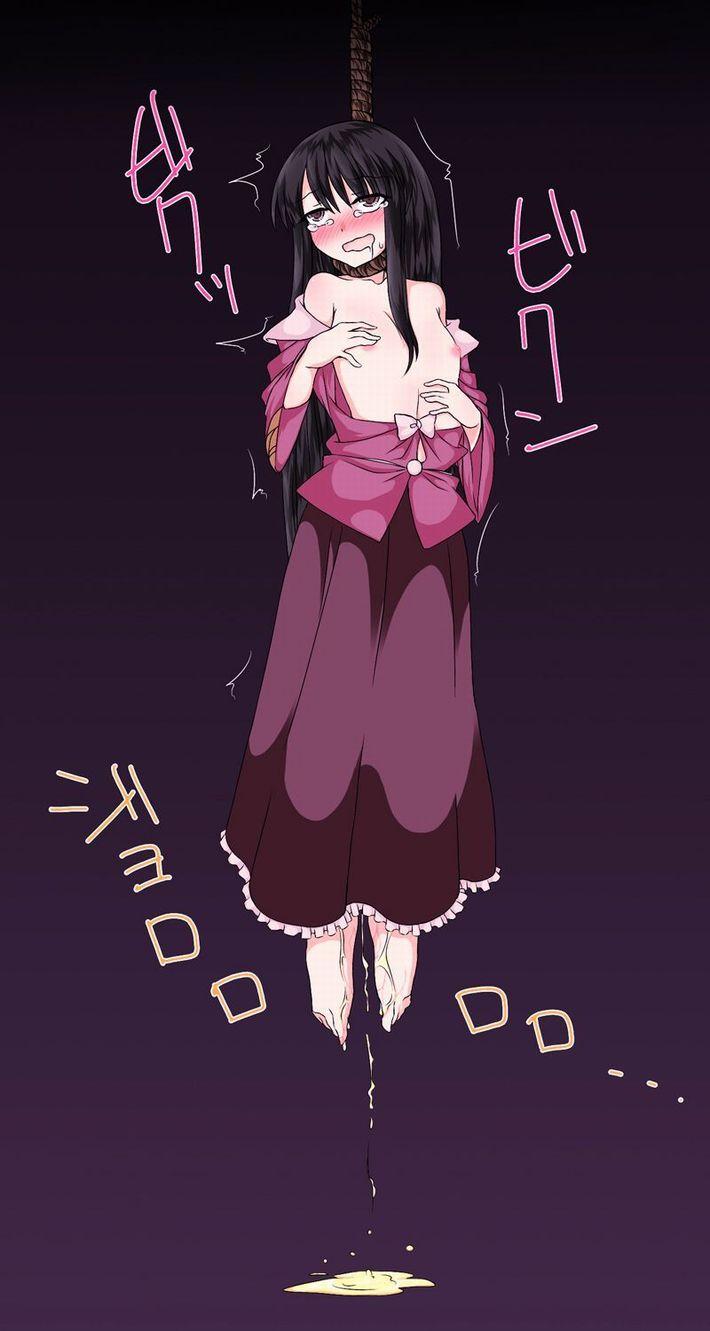 【梶原集人】ションベン垂れ流しながら首吊りしてる二次リョナ画像【19】