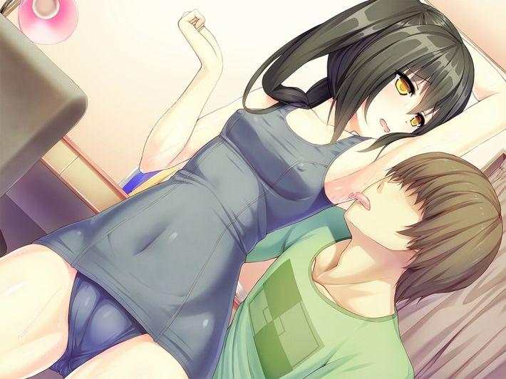 【この味は!】女の子の腋を舐めてる二次エロ画像【…汗をかいてる『味』だぜ】【17】