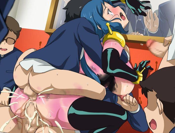 【肛門裂傷】後ろの穴までレイプされてる可哀想な女の子達の二次エロ画像【9】