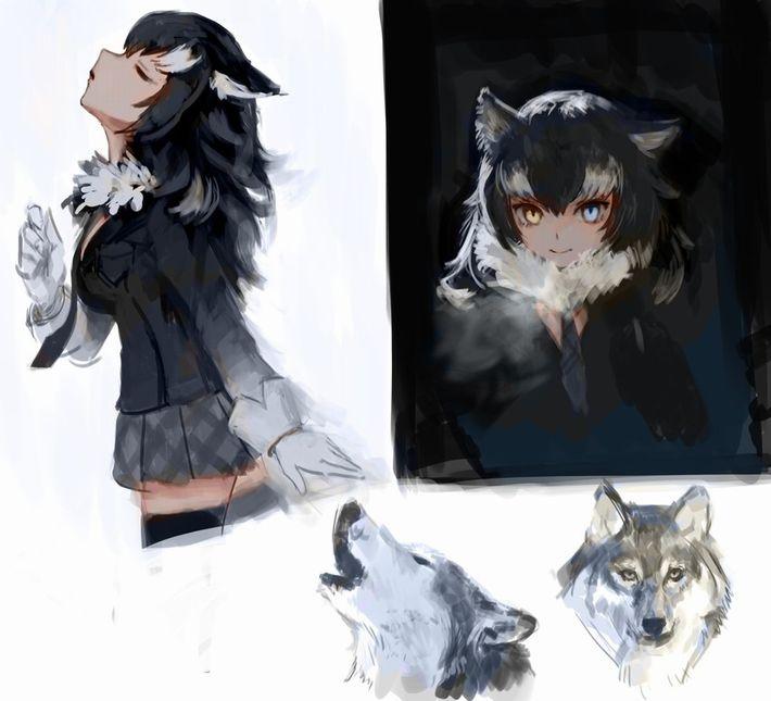 【けものフレンズ】タイリクオオカミ(Graywolf)のエロ画像【けもフレ】【21】