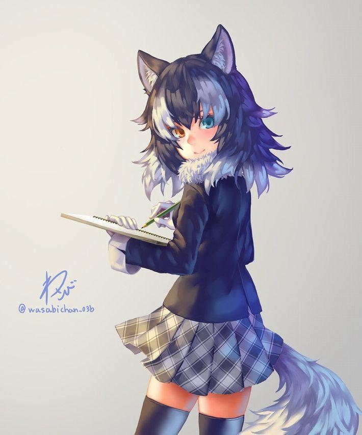 【けものフレンズ】タイリクオオカミ(Graywolf)のエロ画像【けもフレ】【39】
