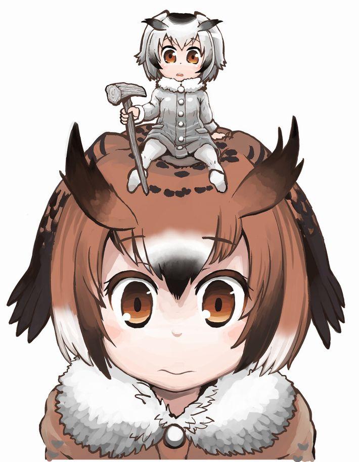【けものフレンズ】ワシミミズク(eurasian eagle owl)のエロ画像【けもフレ】【31】