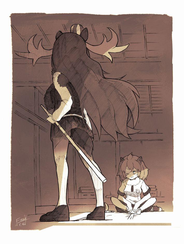 【けものフレンズ】ヘラジカ(moose)のエロ画像【けもフレ】【23】
