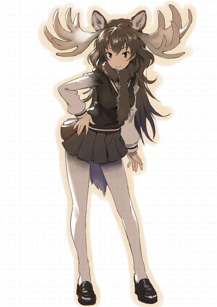 【けものフレンズ】ヘラジカ(moose)のエロ画像【けもフレ】【39】