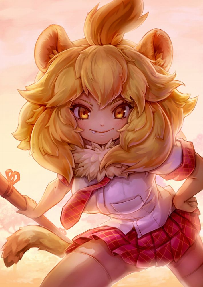 【けものフレンズ】ライオン(lion)のエロ画像【けもフレ】【11】
