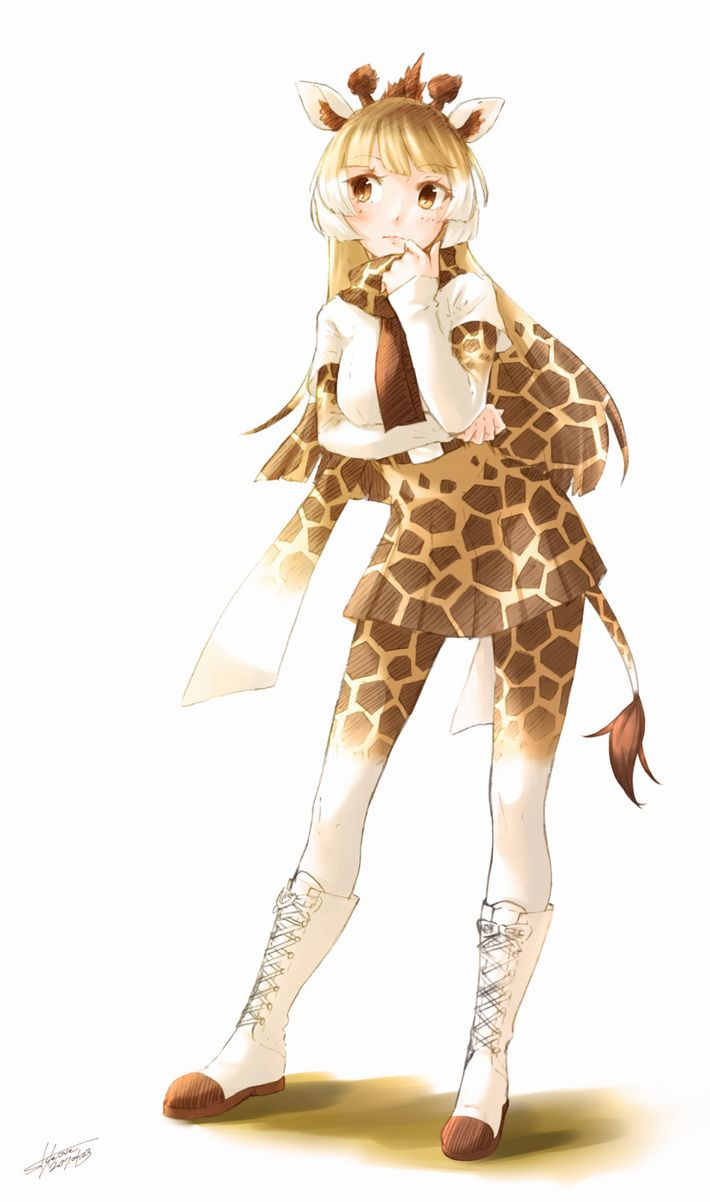 【けものフレンズ】アミメキリン(reticulated giraffe)のエロ画像【けもフレ】【9】