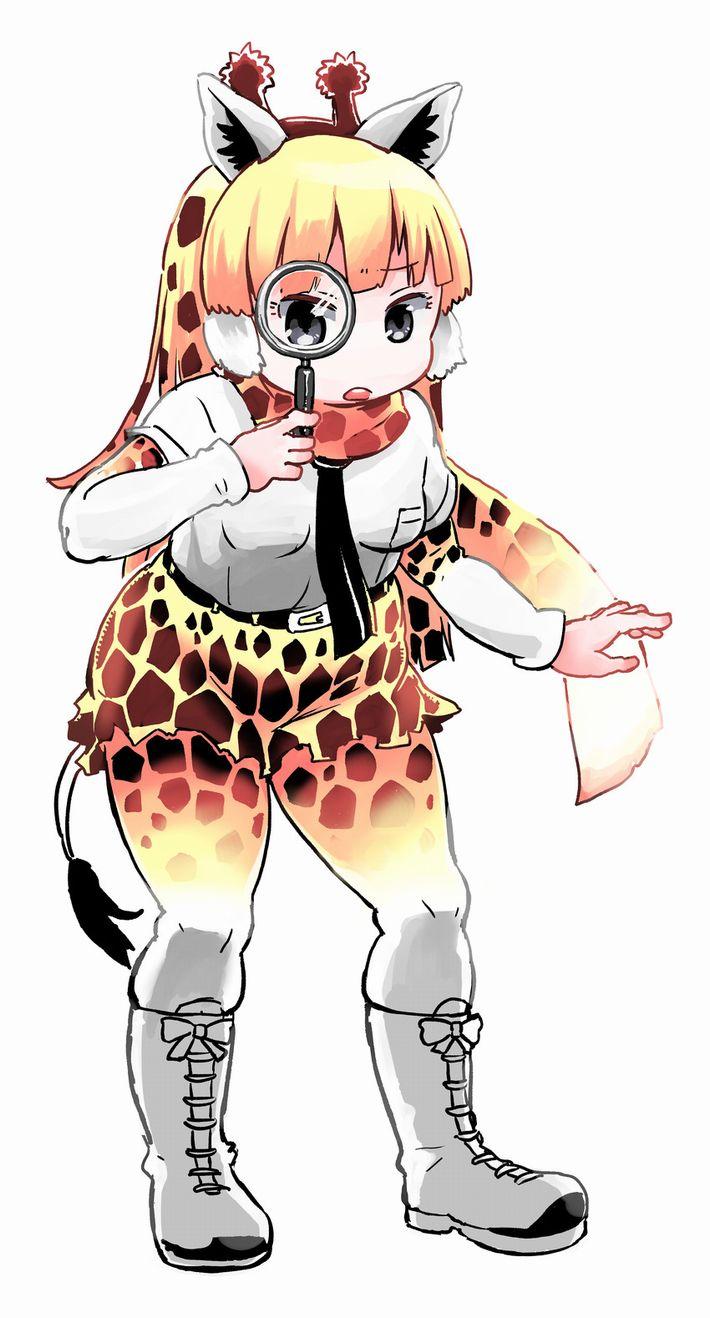 【けものフレンズ】アミメキリン(reticulated giraffe)のエロ画像【けもフレ】【12】
