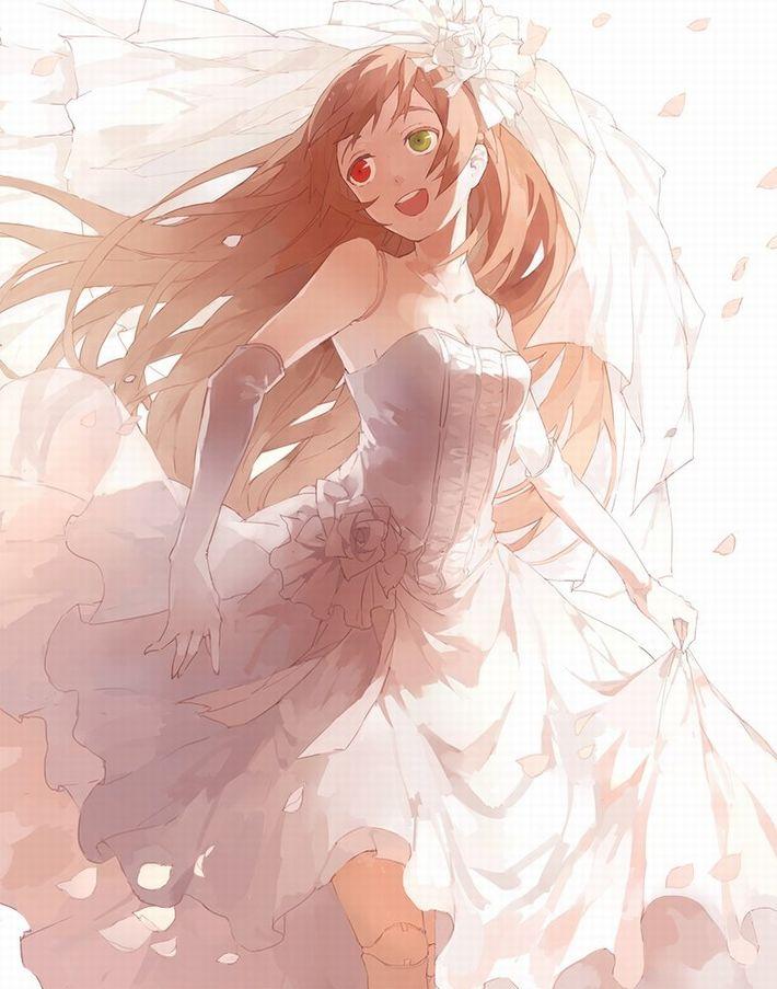 【夜はきっと・・・】純白のウェディングドレスを着た新婚ホヤホヤな二次エロ画像【28】