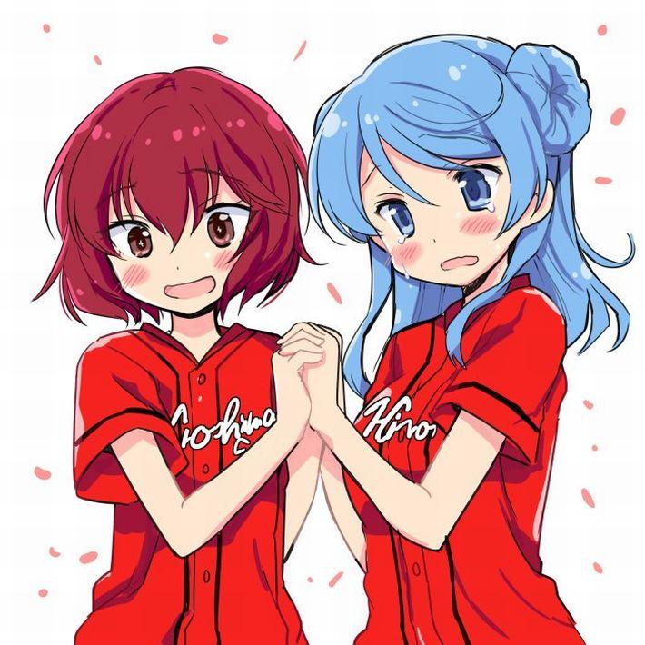 【やきうのお姉ちゃん】野球が大好きな女の子達(カープ女子多め)の二次エロ画像【5】