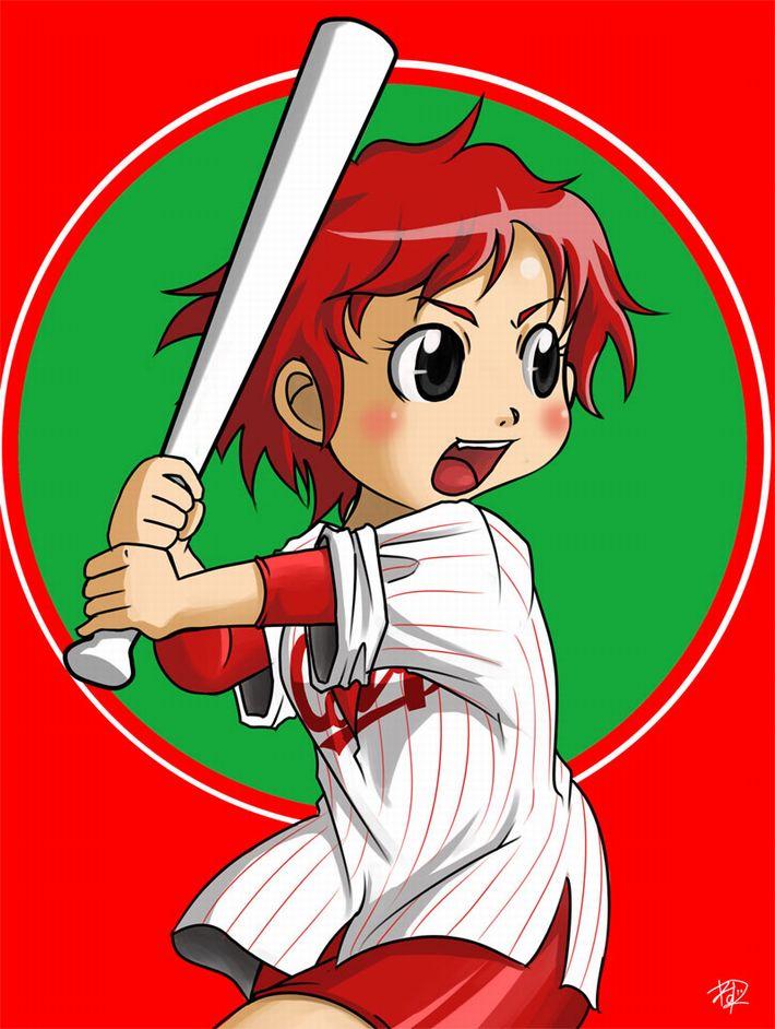 【やきうのお姉ちゃん】野球が大好きな女の子達(カープ女子多め)の二次エロ画像【10】