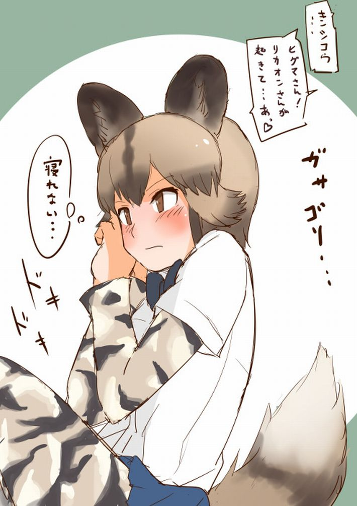 【けものフレンズ】リカオン(african wild dog)のエロ画像【けもフレ】【8】