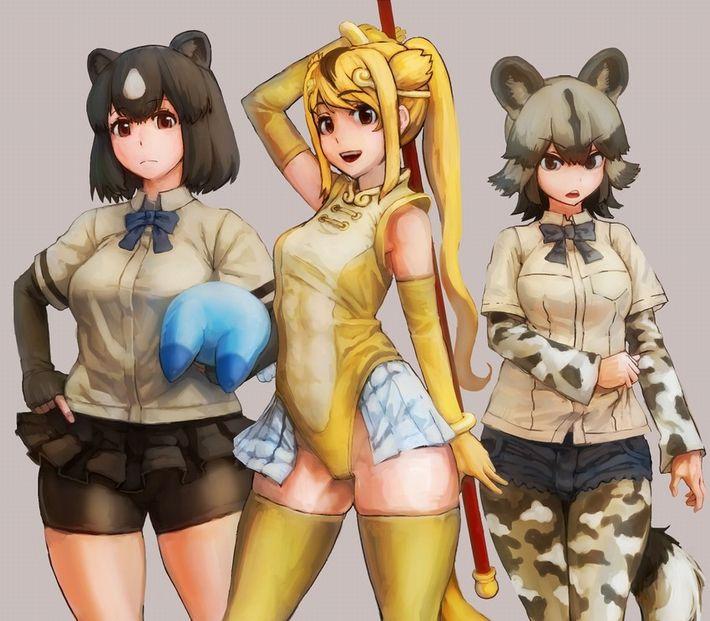 【けものフレンズ】リカオン(african wild dog)のエロ画像【けもフレ】【15】