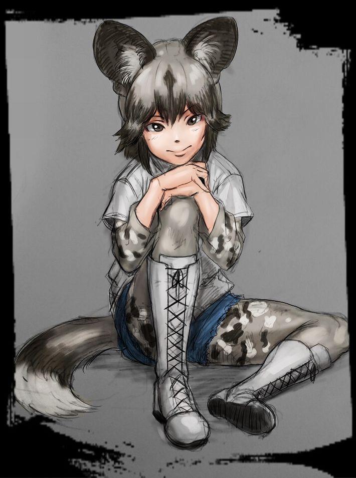 【けものフレンズ】リカオン(african wild dog)のエロ画像【けもフレ】【26】