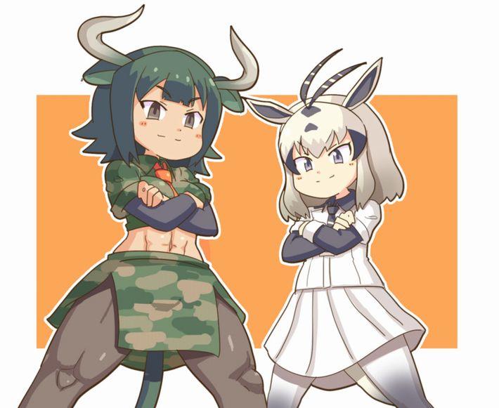 【けものフレンズ】オーロックス(aurochs)&アラビアオリックス(arabian oryx)のエロ画像【けもフレ】【18】