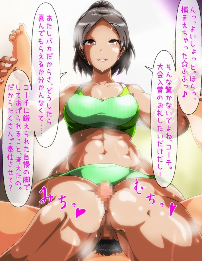 【アスリート御用達】巨乳×スポーツブラの二次エロ画像【34】