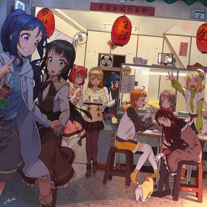 【楽しい食卓】友達同士で仲良くご飯食べてる二次画像【8】