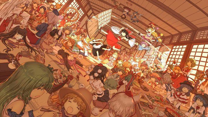 【楽しい食卓】友達同士で仲良くご飯食べてる二次画像【10】