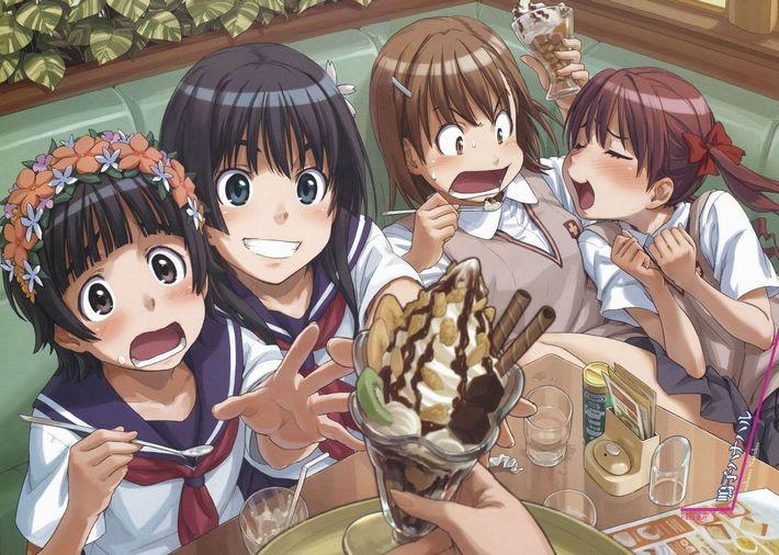 【楽しい食卓】友達同士で仲良くご飯食べてる二次画像【12】