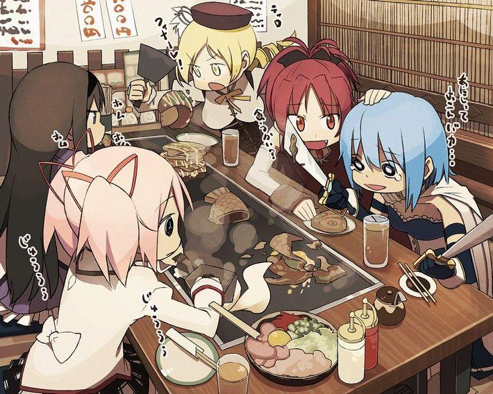 【楽しい食卓】友達同士で仲良くご飯食べてる二次画像【23】