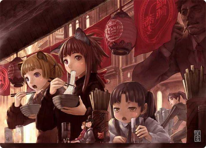 【楽しい食卓】友達同士で仲良くご飯食べてる二次画像【24】