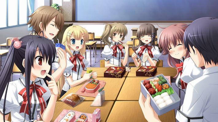 【楽しい食卓】友達同士で仲良くご飯食べてる二次画像【26】