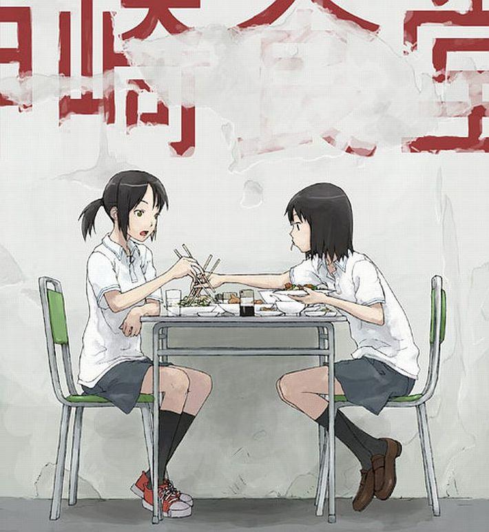 【楽しい食卓】友達同士で仲良くご飯食べてる二次画像【27】