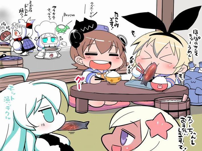 【楽しい食卓】友達同士で仲良くご飯食べてる二次画像【36】