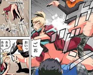 【エロ漫画】飛び降り自殺した男子は超能力を身に着けた、いままでいじめていた巨乳ギャルたちに命令してフェラチオや中だしで犯しまくる!