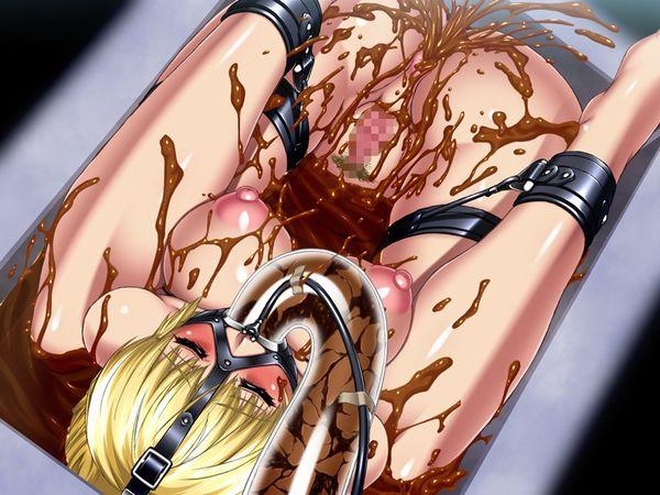 【閲覧注意】うんこ食ってる女の子の食糞二次画像【29】