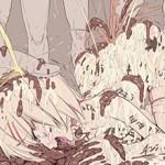 【閲覧注意】うんこ食ってる女の子の食糞二次画像