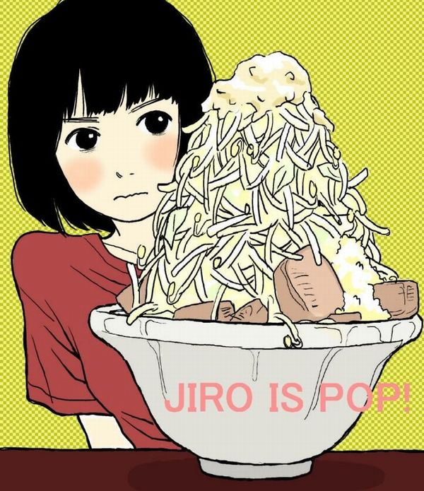 【二次】女の子がラーメン二郎食ってる画像【全マシマシ】【14】