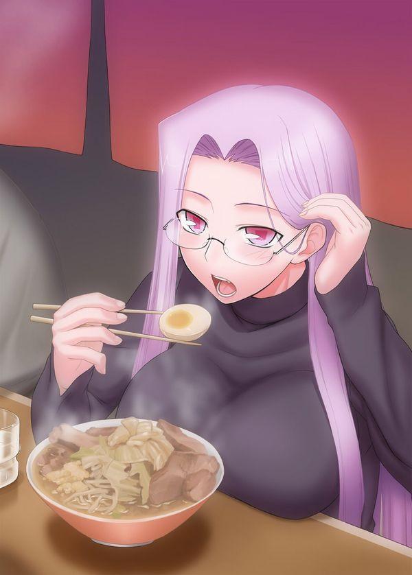 【二次】女の子がラーメン二郎食ってる画像【全マシマシ】【29】