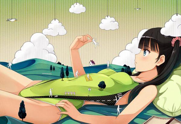 【二次】浮きでたオヘソのくぼみに興奮する競泳水着エロ画像!【28】
