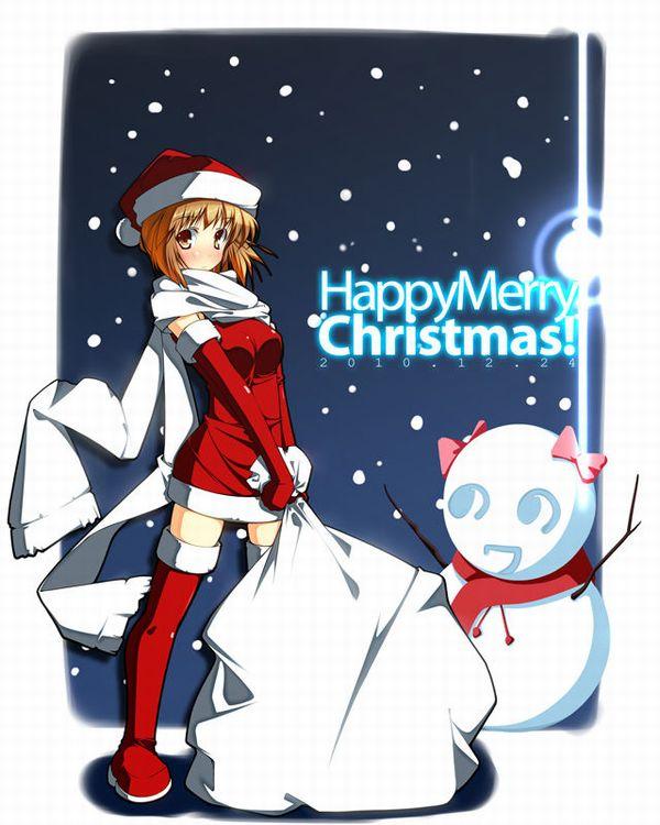 【冬の風物詩】雪だるま作ってる女子達の二次画像【16】
