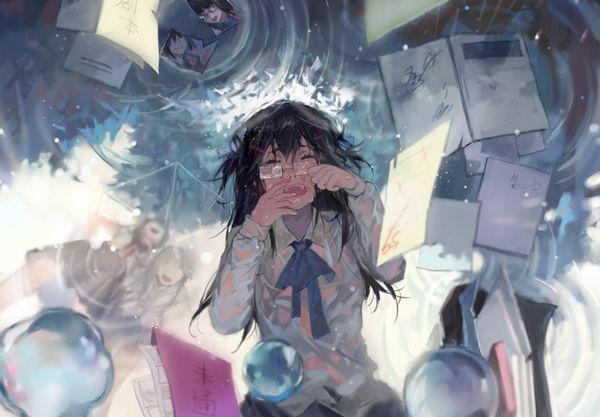 【どうしたの?】泣いてる女の子の二次画像【11】