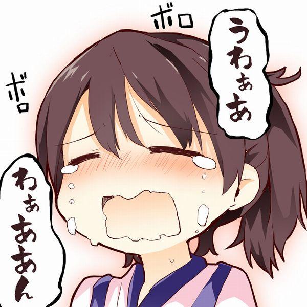 【どうしたの?】泣いてる女の子の二次画像【30】