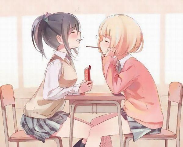 【百合】「女同士も良いよね?」と気づいてしまった女子達の二次画像【8】