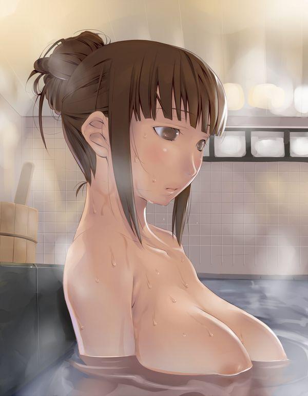 【NOT温泉】銭湯で汗を流す女子達の二次エロ画像【28】