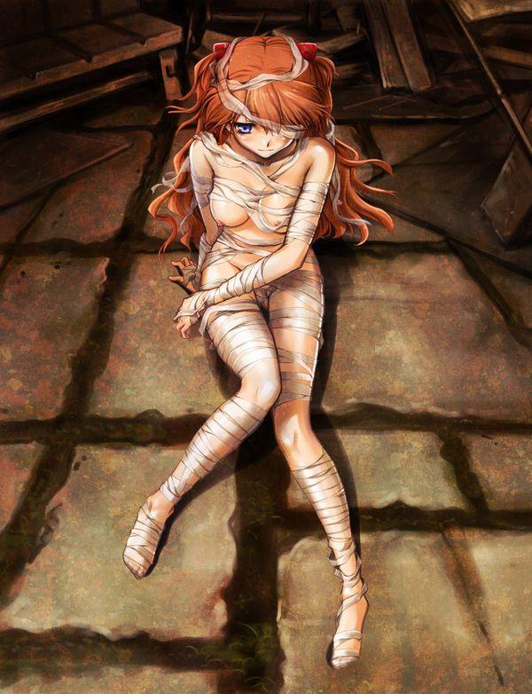 【痛そう】包帯だらけな女子達の二次エロ画像【8】
